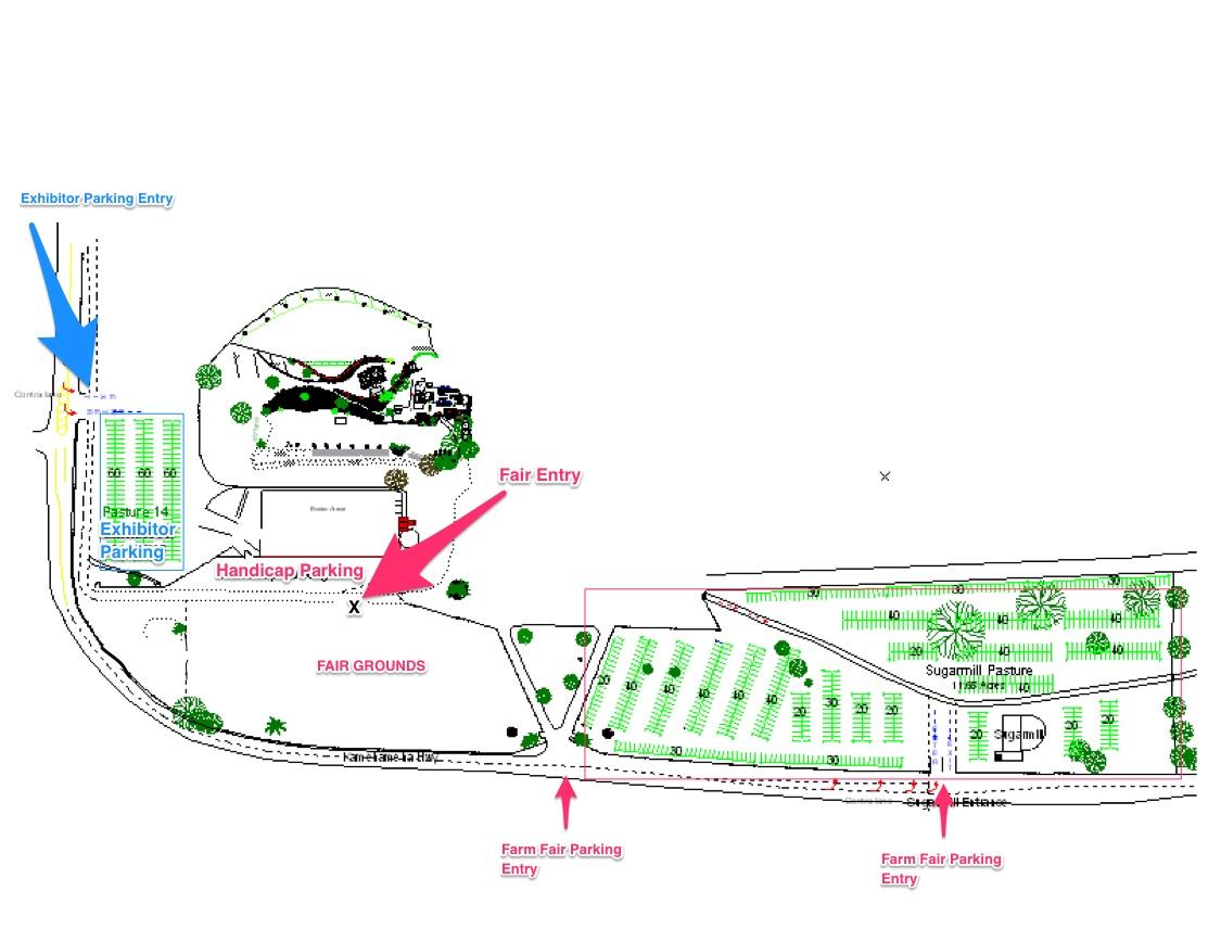 2016_HSFF_Kualoa_Parking_Map