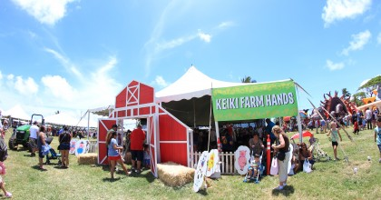 "THE HAWAII FARM BUREAU PRESENTS ""IT'S AG-TASTIC!"" THE 54th ANNUAL HAWAII  STATE FARM FAIR WITH THE HAWAII STATE DEPARTMENT OF AGRICULTURE AT KUALOA RANCH JULY 9 AND 10"