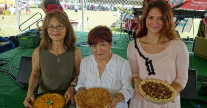 The Hawaii State Farm Fair's winning pie by Melissa Chang for Frolic Hawaii (@frolichawaii @melissa808)
