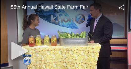 KHON2: Get ready for the Hawaii State Farm Fair